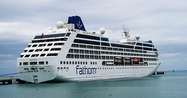 Carnival Corps Fathom Cruise Line Discontinued As Adonia Returns - Adonia cruise ship