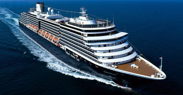 Holland America Line S Oosterdam Sails Maiden Cruise From