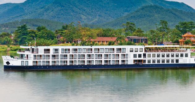 Ama Riverboat Cruises Europe Amadante River Cruise Ship