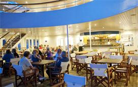 Aegean Odyssey - Terrace Cafe