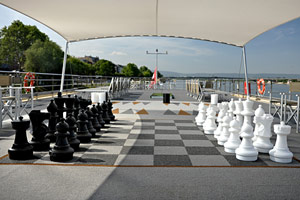 Avalon Panorama - Sky Deck Chess Board