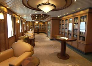 Coral Princess - The Library