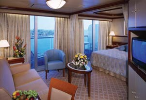 Coral Princess - Spacious Suite