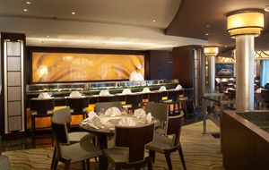 Crystal Symphony - Silk Road Sushi Bar
