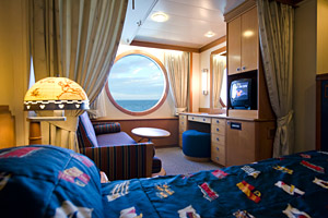 Disney Wonder - Oceanview Cabin