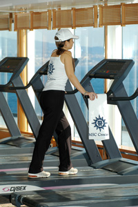 MSC Sinfonia - Fitness Center