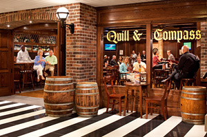 Radiance of the Seas - Quill and Compass Pub