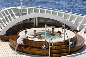 Seabourn Legend - On Deck