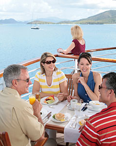 Seabourn Legend - Dining Al Fresco