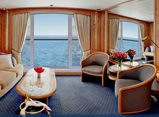 Seabourn Legend - Suite With French Balcony