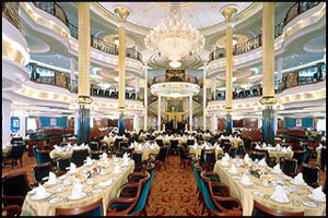 Adventure of the Seas - Main Dining Room
