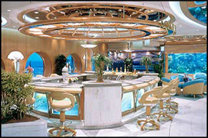 Adventure of the Seas - Aquarium Bar