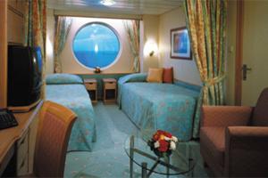 Adventure of the Seas - Oceanview Cabin