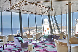 Allure of the Seas - The Suites' Lounge