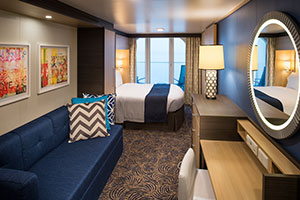 Anthem of the Seas - uperior Ocean View Stateroom with Balcony