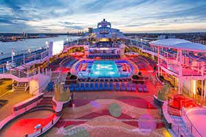Anthem of the Seas - The Pool Deck