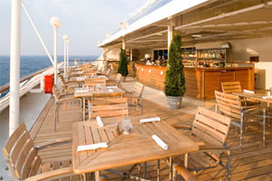 Azamara Journey - Breeza Outdoor Dining