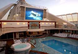 Caribbean Princess - Innovative Outdoor Cinema