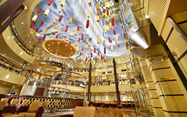 Carnival Breeze - Atrium