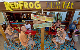 Carnival Breeze - Red Frog Rum Bar