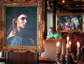 Carnival Pride - Painting in the Florentine Lobby