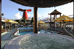 Carnival Fantasy - Pool Deck