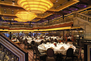 Carnival Freedom - Main Dining Room