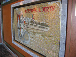 Carnival Liberty - Liberty features an artisan theme throughout.