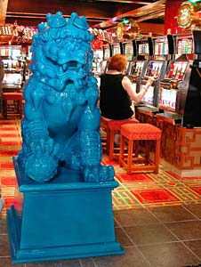 Carnival Victory - Lion Guarding Casino