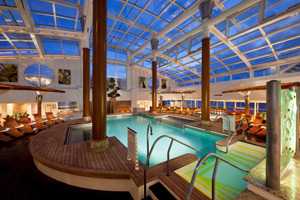 Celebrity Infinity - Solarium Pool