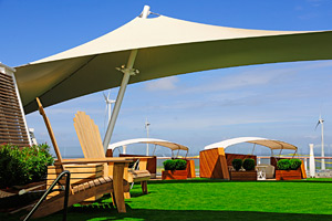 Celebrity Silhouette - Lawn Club Alcoves