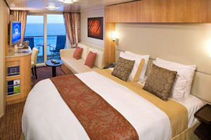 Celebrity Silhouette Cabins and Staterooms - Cruiseline.com