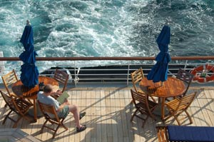 Clipper Odyssey - Deck Lounging