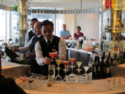 Celebrity Constellation - The new Martini Bar