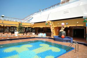 Costa Concordia - Lido Deck