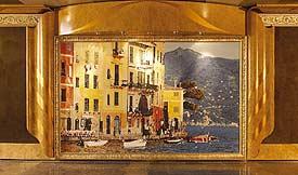 Costa Magica - Detail of Italia Magica Atrium