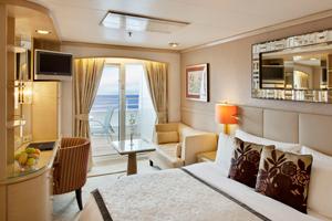 Crystal Symphony - Standard Balcony Cabin