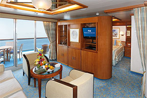 Dawn Princess - Suite with Balcony