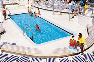 Dawn Princess - Riviera Pool