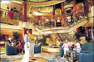 Dawn Princess - Grand Plaza Atrium