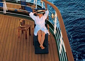 Deutschland - Lounging on Deck