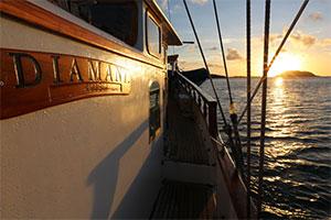 Diamant - Sunset