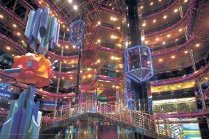 Carnival Ecstasy - Grand Atrium