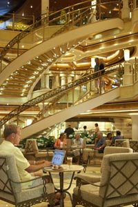 Emerald Princess - Atrium
