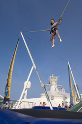 Enchantment of the Seas - Bungee Trampoline