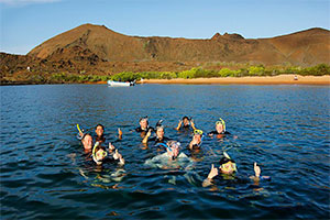 Evolution - Snorkeling in the Galapagos