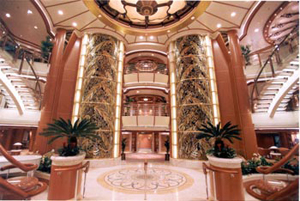 Golden Princess - Atrium