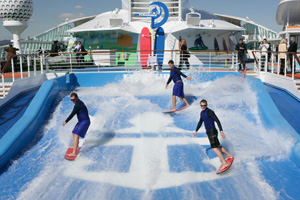 Independence of the Seas - FlowRider
