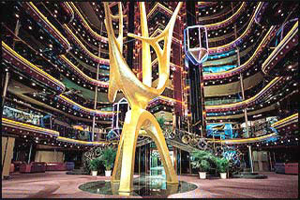Carnival Inspiration - Grand Atrium