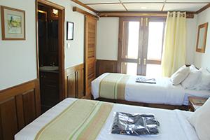 Kalay Pandaw - Cabin on Kalay Pandaw